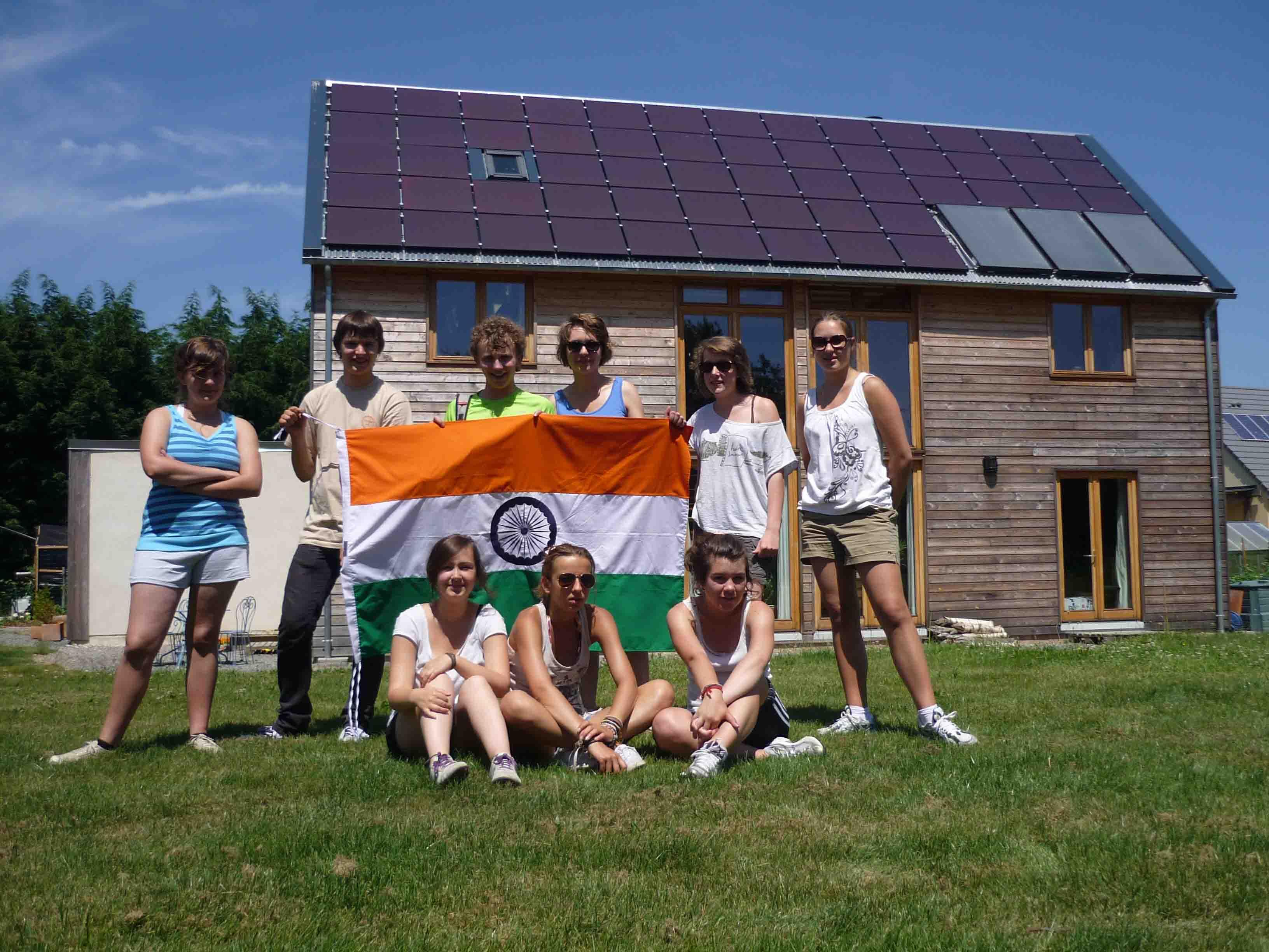 Maison bioclimatique Cérences Ecotaupi
