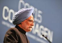 Oorjaa Manmohan Singh à Copenhague Inde changement climatique