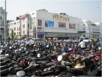 Motos à Delhi