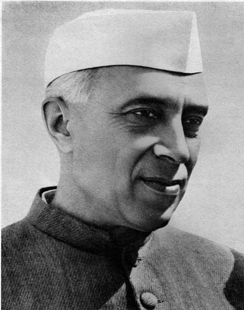 Portrait de Nehru